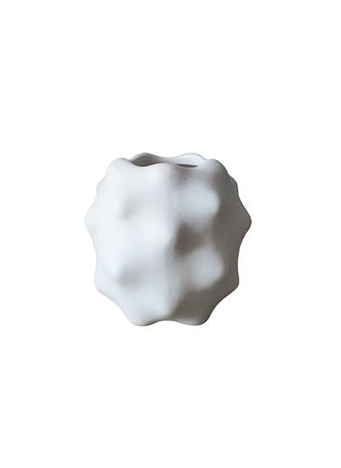 LWP Shop Sostrene Grene Dekoratif Kısa Tasarım Vazo Beyaz